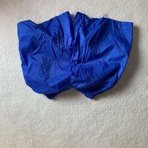 Girls blue 12-14 Nike shorts